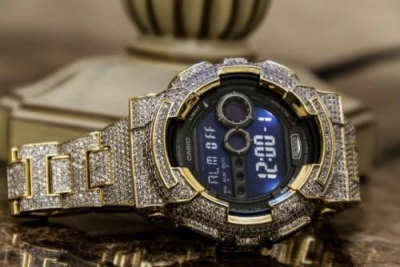 G-Shock Iced Out by Bling Master